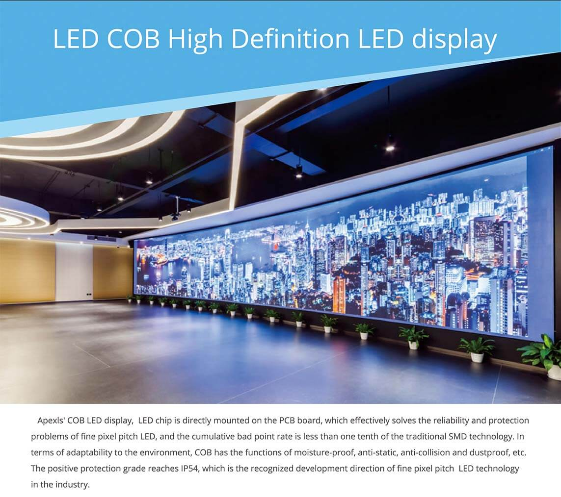 COB Fine Pixel LED Display