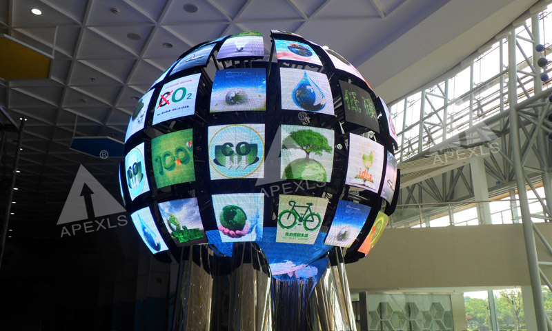 Sphere LED Display in Hangzhou Technology Museum