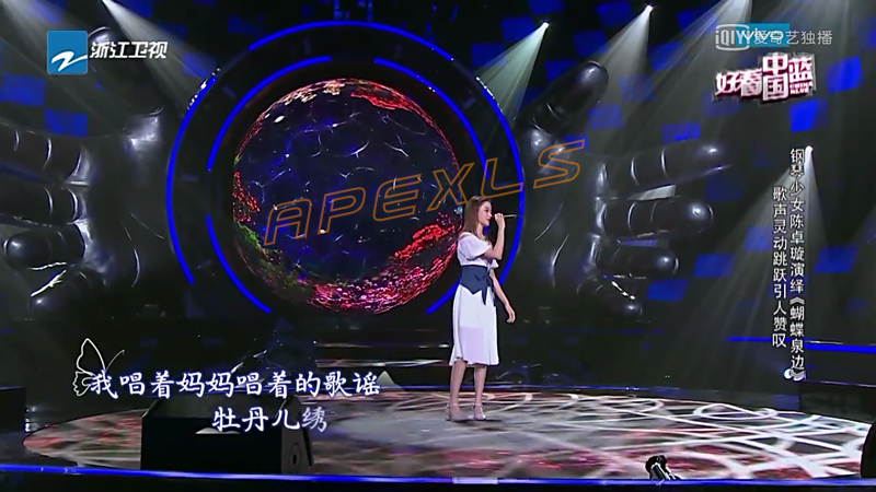 Semi-sphere LED Display with Ø6m in Zhejiang Province