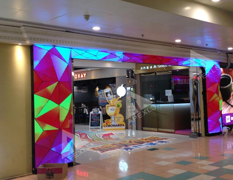 LED Diamond Screen in Hongkong