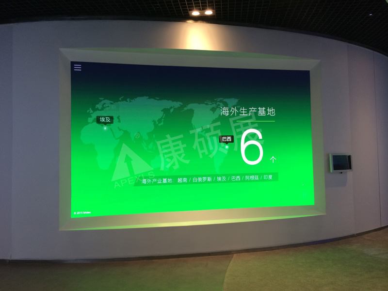 Amide Group P2.5 HD Indoor LED Display