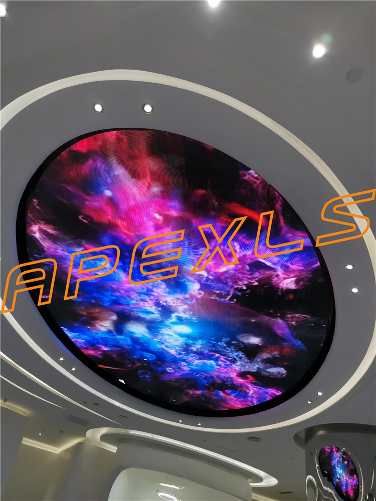 Shenzhen P3 ceiling indoor full-color LED display